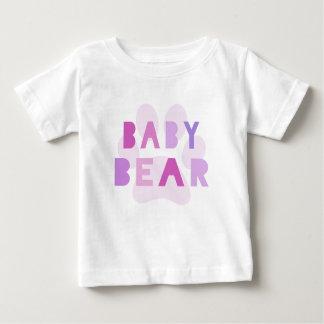 Baby bear - pink baby T-Shirt