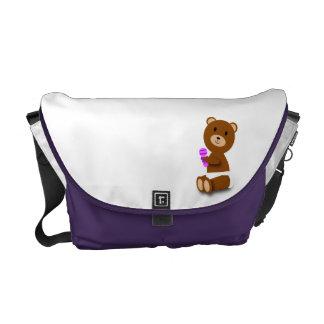 Baby Bear Rickshaw Messenger Bag