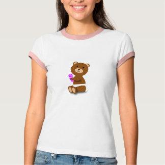 Baby bear ringer T-shirt