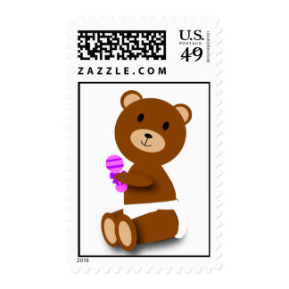 baby bear stamp