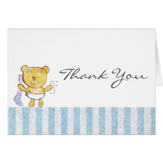 Baby Bear Thank You card, by designer Brad Hines Card