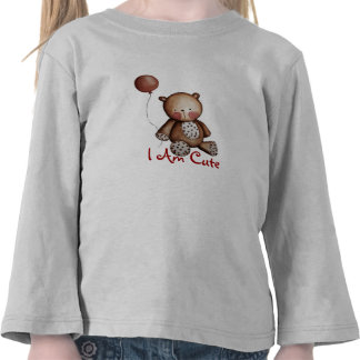 Baby Bear with balloon tshirt