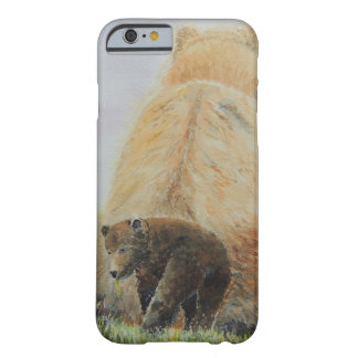 Baby Bear with Mama Bear Barely There iPhone 6 Case