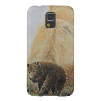 Baby Bear with Mama Bear Galaxy S5 Case
