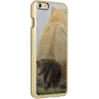 Baby Bear with Mama Bear Incipio Feather® Shine iPhone 6 Plus Case