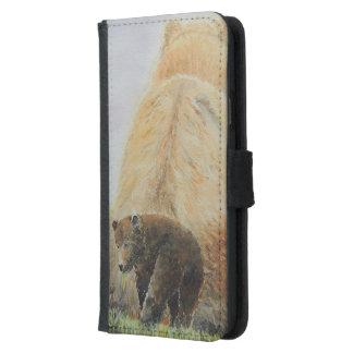 Baby Bear with Mama Bear Samsung Galaxy S5 Wallet Case
