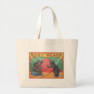 Baby Bears Large Tote Bag