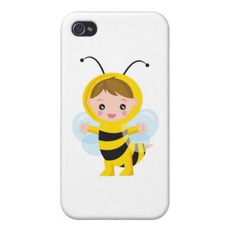 Baby Bee Cover For iPhone 4