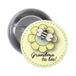 "Baby Bee in Neutral Yellow Grandma To ""Bee"" Pin"