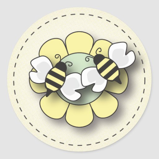 how to draw a bee baby bee gender neutral sticker zazzle 6773