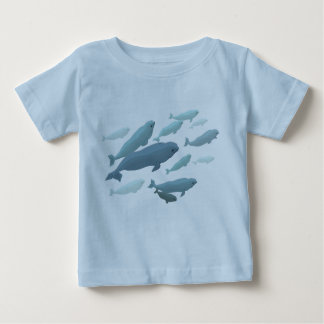Baby Beluga Whale T-Shirt Cute Whale Art