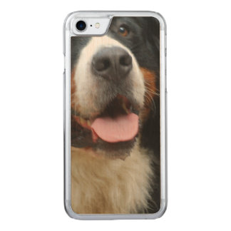 Baby  Bernese Mountain Dog Carved iPhone 7 Case