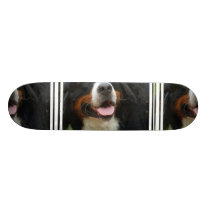 Baby Bernese Mountain Dog Skateboard Deck