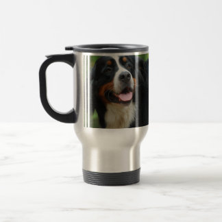 Baby Bernese Mountain Dog Travel Mug