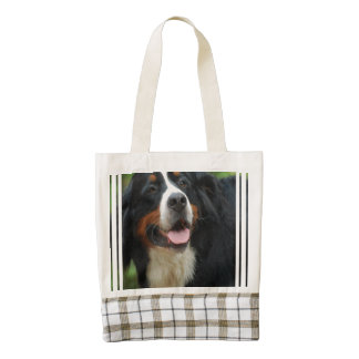 Baby Bernese Mountain Dog Zazzle HEART Tote Bag