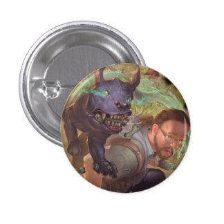 Baby Bestiary - Blink Puppy Pinback Button