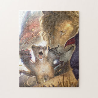 Baby Bestiary - Chimera Pup Jigsaw Puzzle