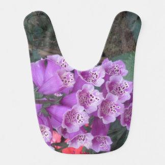 Baby Bib BEST SMILEY FLOWER Healing Comfort Art