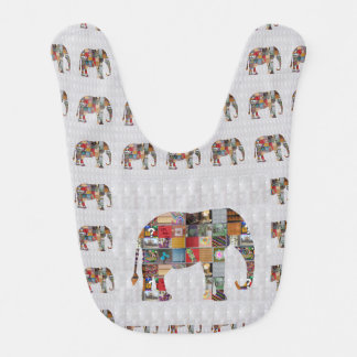 Baby Bib BUY BEST ELEPHANT Healing Comfort Art
