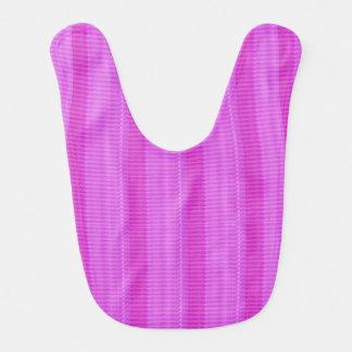 Baby Bib BUY BEST Pink Stripes Healing Comfort Art