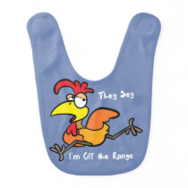Baby Bib Chicken Rooster Barnyard Farm Animal