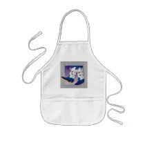 Baby Bib - Electric Slide Cowboy Boots Kids' Apron