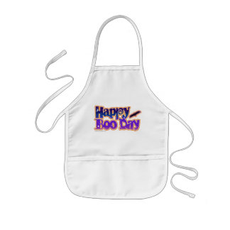 Baby Bib - HAPPY BOO DAY - Halloween Kids' Apron