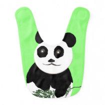 Baby Bib Panda Bear