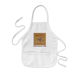 Baby Bibs - Carousel Ostrich Kids' Apron