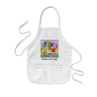 Baby Bibs - Duck of a Different Color Kids' Apron