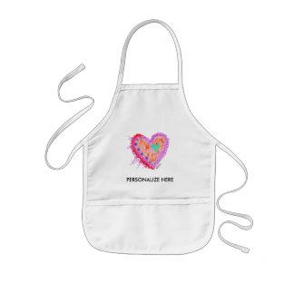 BABY BIBS - Happy Heart Kids' Apron