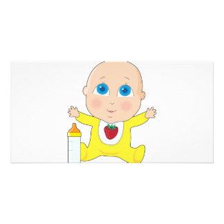 Baby Big Eyes Card