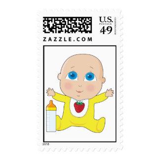 Baby Big Eyes Stamp