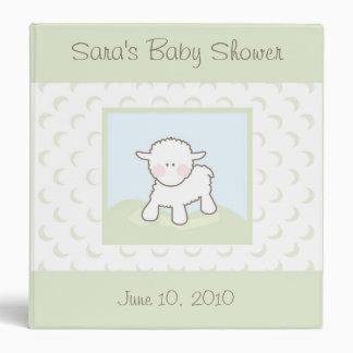 Baby Binder Shower Book