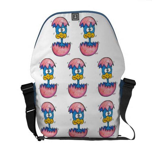 Baby Bird Messenger Bag