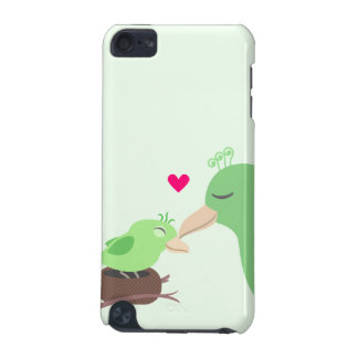 Baby Bird Mother Bird Heart iPod Touch (5th Generation) Covers