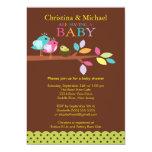 Baby Bird Nest Baby Shower Invitations