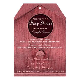Baby Birdhouse Shower Invitation