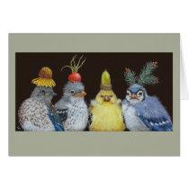 Baby birds card