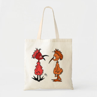 Baby Birds Cartoon on shopping bag