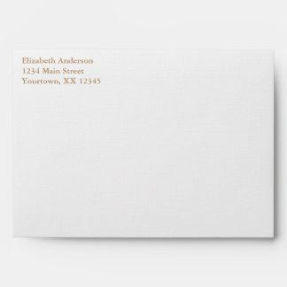 Baby Bird's Nest Baby Shower Envelopes