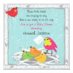 Baby bird's nest Baby Shower Invitation