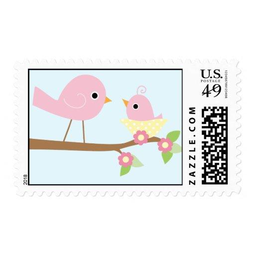 Baby Bird's Nest (pink) Stamp