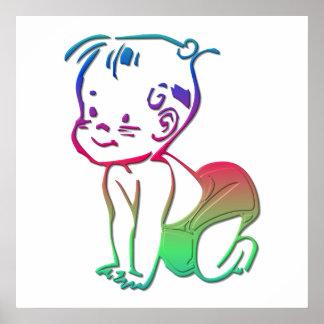 Baby (Birth Announcement / Keepsakes) Poster