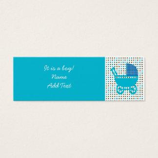 Baby Birth Announcement minicard Mini Business Card