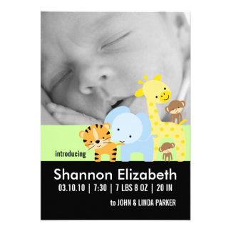 Baby Birth Announcement Photo Cards