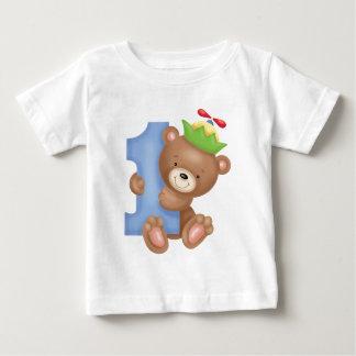 Baby birthday 1 year - teddy t shirts