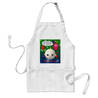 Baby Birthday Adult Apron
