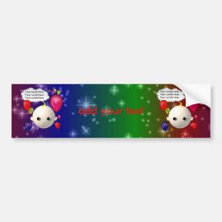 Baby Birthday Bumper Sticker