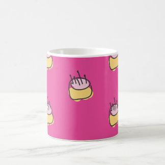 Baby Birthday cake hot pink Classic White Coffee Mug